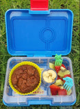 Yumbox MiniSnack Bento Lunchbox (3 compartments) – Congo Green