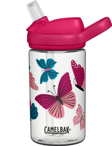CamelBak 'Eddy PLUS' Kids Drink Bottle 400ml - Butterfly. HURRY - LAST TWO!