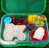 Yumbox Panino Bento Lunchbox (4 compartments) - Nevis Blue. HURRY - ONLY 3 LEFT!