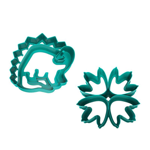 "Lunch Punch Pairs ""Dinosaur"" Sandwich Cutters (set of 2)"
