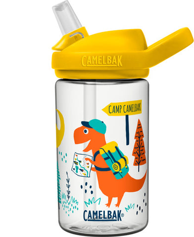 CamelBak 'Eddy PLUS' Kids Drink Bottle 400ml - Dinosaur Summer. LIMITED EDITION. ARRIVING BY TUESDAY 2 MARCH. PRE-ORDER NOW!