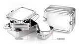 Large Double-Layer Rectangular Lunchbox (holds 8.4 cups). HURRY - LAST ONE!