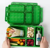 Go Green Lunch Set - Flamingo. (Lunchbox + insulated bag + drink bottle + ice pack.)