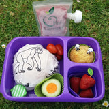Goodbyn Hero Lunchbox + 2 Leakproof Dippers - Purple