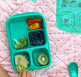 Goodbyn Hero Lunchbox + 2 Leakproof Dippers - Aqua Green. HURRY - LAST 2 UNTIL JANUARY!