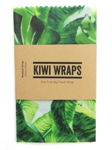 "Kiwi Wraps Reusable Sandwich Wrap - Medium ""Greenhouse"""