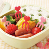 Heart Food Forks (x12)