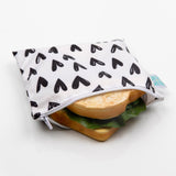 Bumkins Large Snack/Sandwich Bag - Hearts