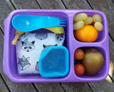 Goodbyn Hero Lunchbox + 2 Leakproof Dippers - Pink