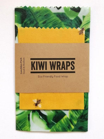 "Kiwi Wraps Reusable Sandwich Wrap - Lunch Pack ""Honey"""