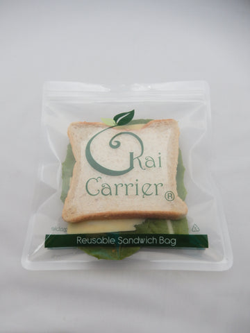 Kai Carrier Reusable Sandwich Bags (5 pack). MORE ARRIVING BEGINNING OF APRIL.