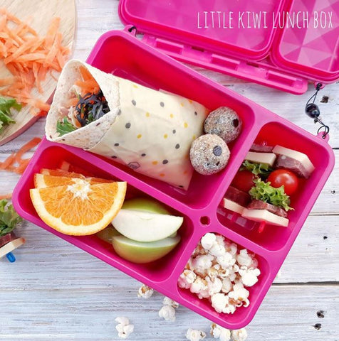 Go Green Lunchbox - Pink. MORE COLOURS COMING SOON!