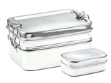 large stainless steel bento lunchbox NZ best