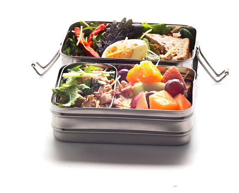 Large Double-Layer Rectangular Lunchbox