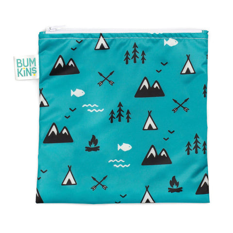 Bumkins Large Snack/Sandwich Bag - Outdoors