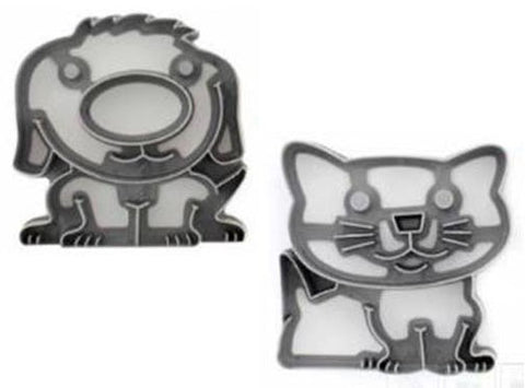 "Lunch Punch Pairs ""Paws"" Sandwich Cutters (set of 2)"