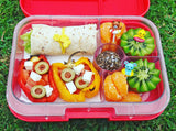 Yumbox Panino Bento Lunchbox (4 compartments) - Neptune Blue