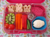 Yumbox Original Bento Lunchbox (6 compartments) – Wow Red