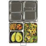 PlanetBox LAUNCH Stainless Steel Bento Lunchbox - (3 Large Compartments). MORE ARRIVING EARLY FEBRUARY.