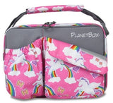 PlanetBox Carry Bag - Rainbows and Unicorns