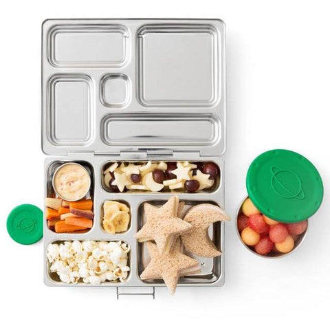 PlanetBox ROVER Stainless Steel Bento Lunchbox (5 Compartments)