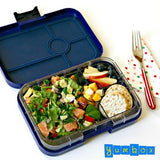 Yumbox Tapas Large Bento Lunchbox (4 compartments) – Brooklyn Green. ONE ONLY!
