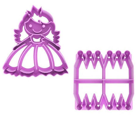 "Lunch Punch Pairs ""Princess"" Sandwich Cutters (set of 2)"
