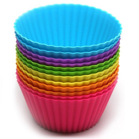 Silicone Cups (set of 12). MORE EXPECTED THIS WEEK.