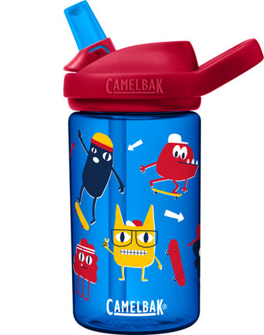 CamelBak 'Eddy PLUS' Kids Drink Bottle 400ml - Skate Monsters