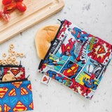 Superman Sandwich Lunch bag reusable NZ