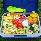 Yumbox Tapas Large Bento Lunchbox (5 compartments) – Portofino Blue. NO LONGER AVAILABLE. TRY OUR VALUE BUNDLE INSTEAD.