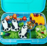 Yumbox Tapas Large Bento Lunchbox (5 compartments) – Flat Iron Grey