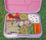 Does a sandwich fit in a Yumbox? Yes - with the large Tapas Yumbox from The Lunchbox Queen NZ