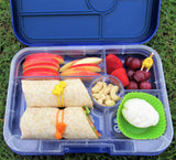 Which is the best bento lunchbox? Large Tapas Yumbox from The Lunchbox Queen NZ
