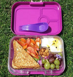 Yumbox Panino Bento Lunchbox (4 compartments) - Dreamy Purple