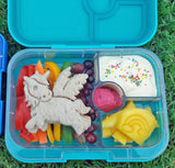 Yumbox Panino Bento Lunchbox (4 compartments) - Coriander Green