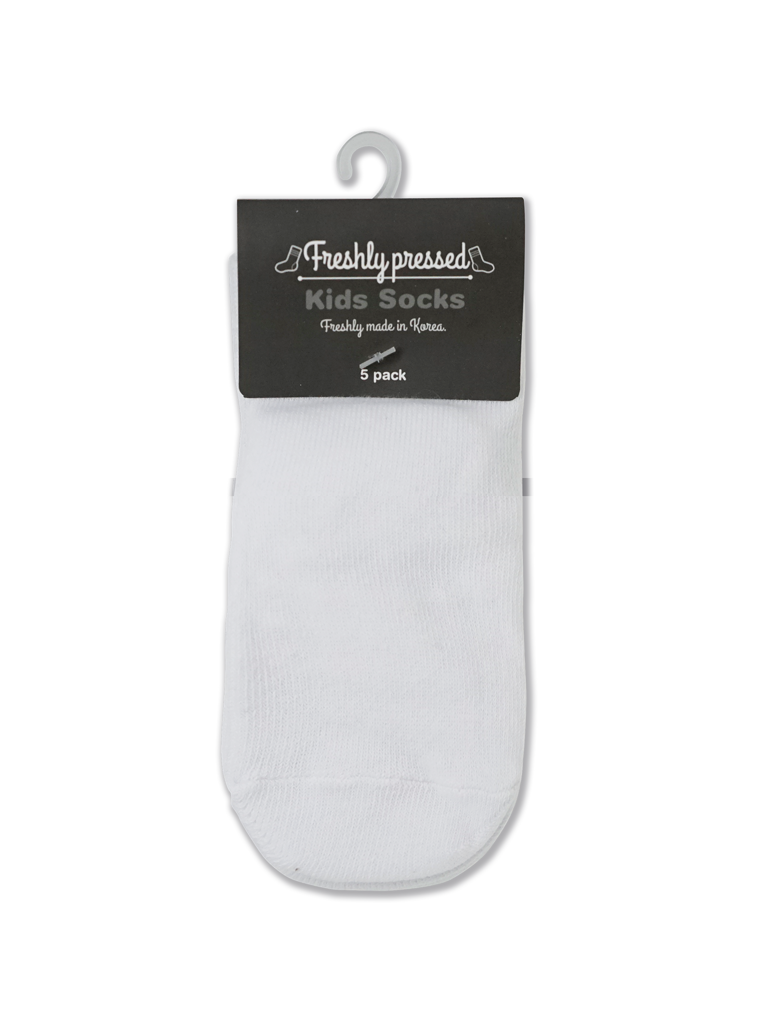 Baby/Kids White Socks - 5pk