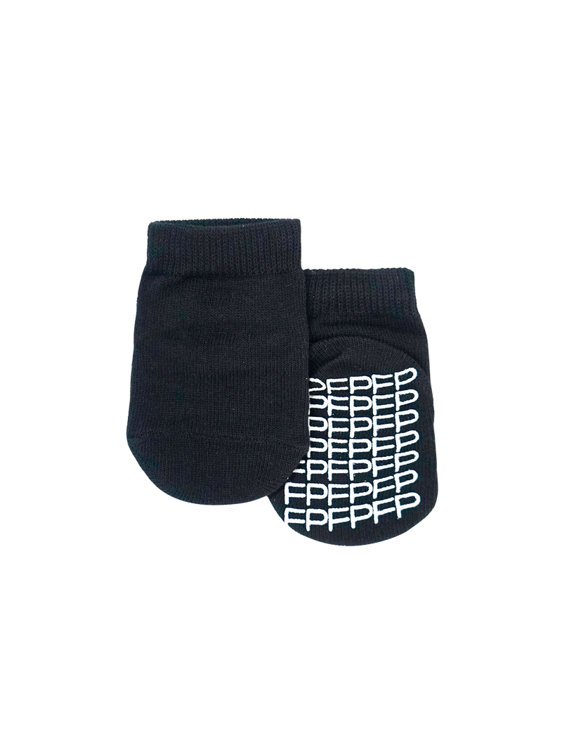 Baby/Kids Black Socks - 5pk