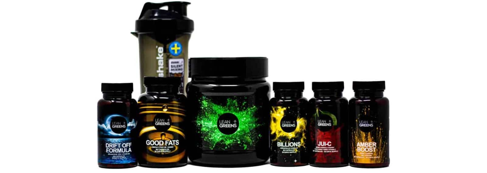 All Lean Greens products