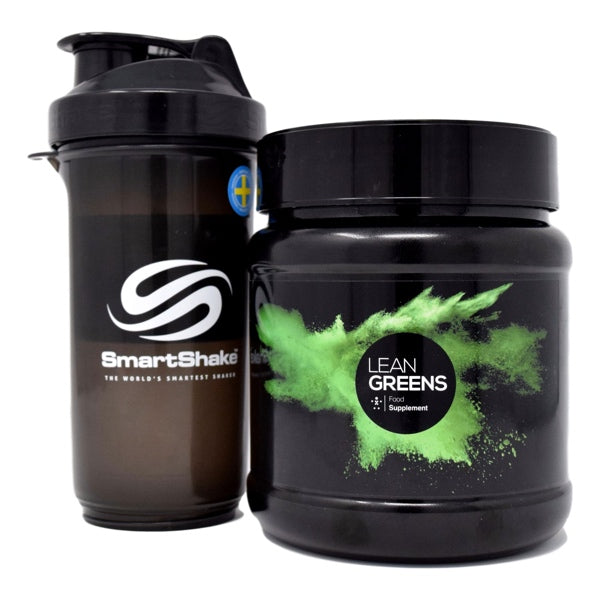 Our Super Greens Powder Starter Pack With Shaker #UpgradeYourNutrition #LeanGreens #PowderedGreens