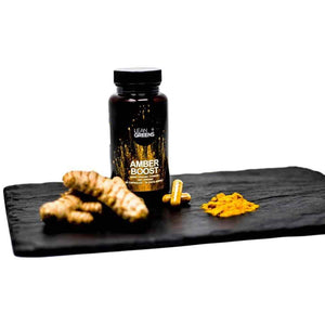 Turmeric on a slate