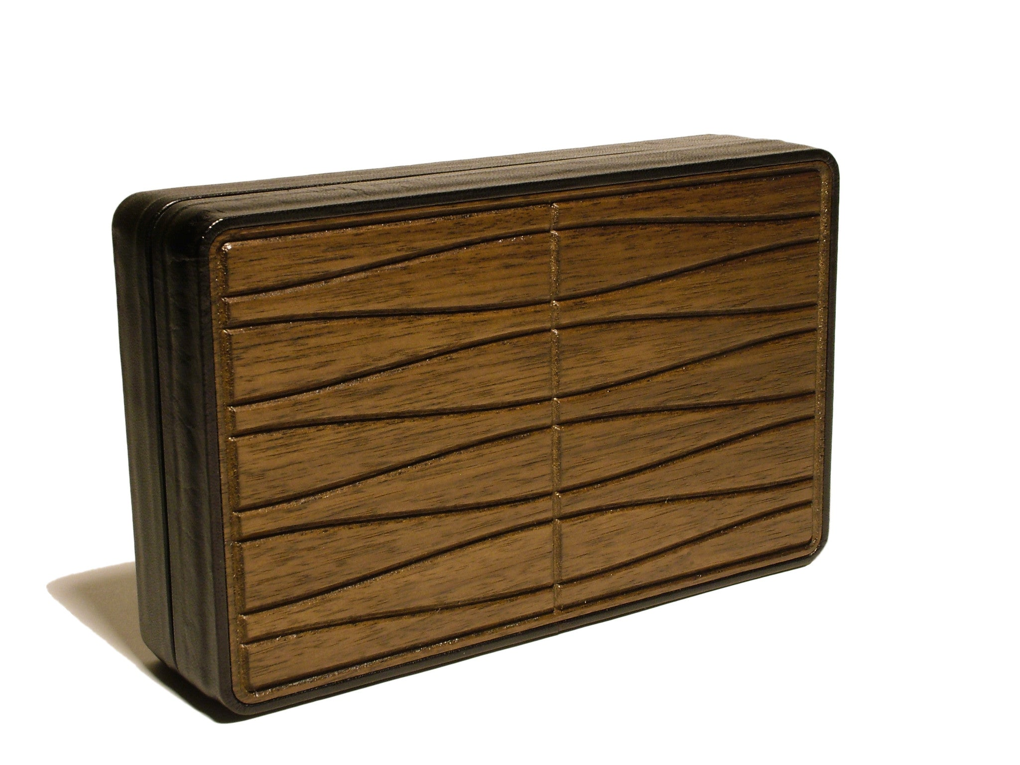 Walnut Box Clutch