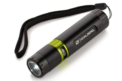 Black Flash Rechargeable Flashlight