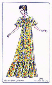 102 Lady's Muumuu Sewing Pattern