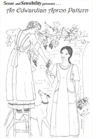 Ladies' Edwardian Apron Pattern