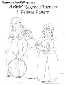 Girls Regency Spencer and Pelisse