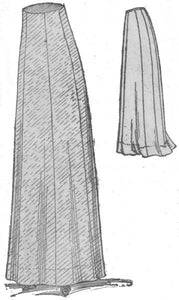 "1909 ""Beatrix"" Skirt Pattern"