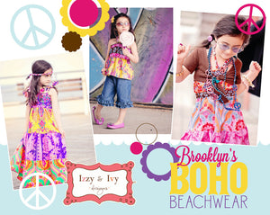 Brooklyn's Boho Beachwear