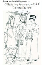 Load image into Gallery viewer, Regency Spencer/Pelisse Pattern