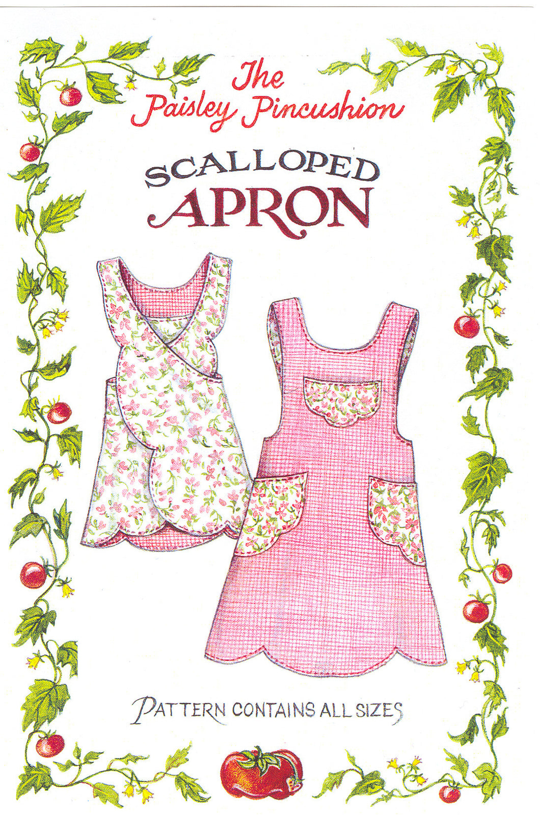 Scalloped Apron
